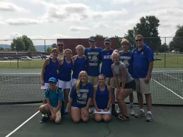 Goblins claim district tennis title