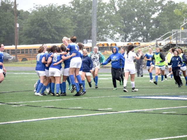 Harrison Lady Goblins vs. Valley View - Class 4A State Soccer Tournament