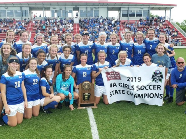 Harrison girls kept plugging along for title