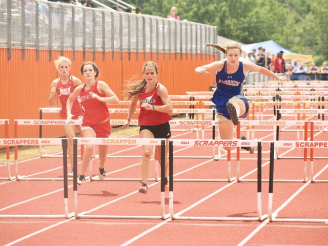 Lady Goblins finish third in state track
