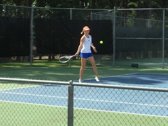 Doshier and McNutt/Ward Doubles in the 4A State Tennis Semi-finals