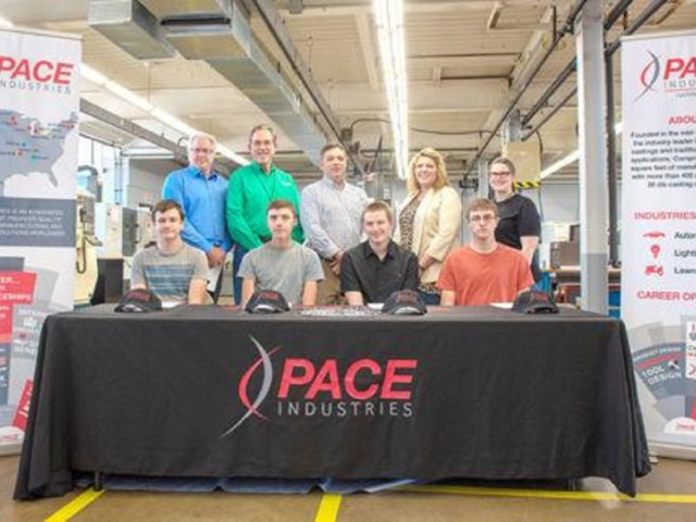 Pace Industries awards Manufacturing Technology Scholarships