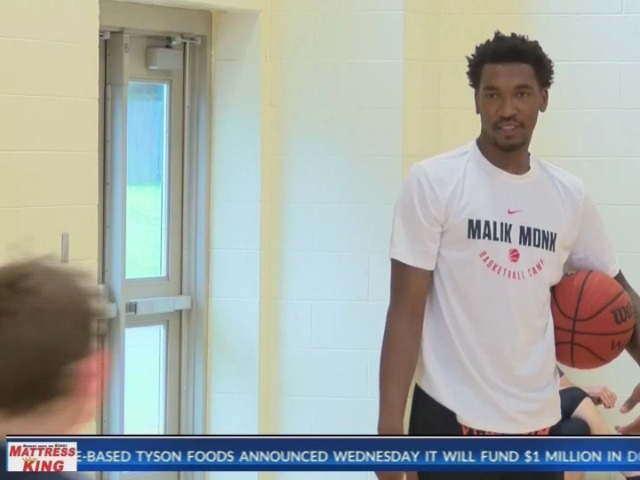 NBA player gives back to Bentonville community
