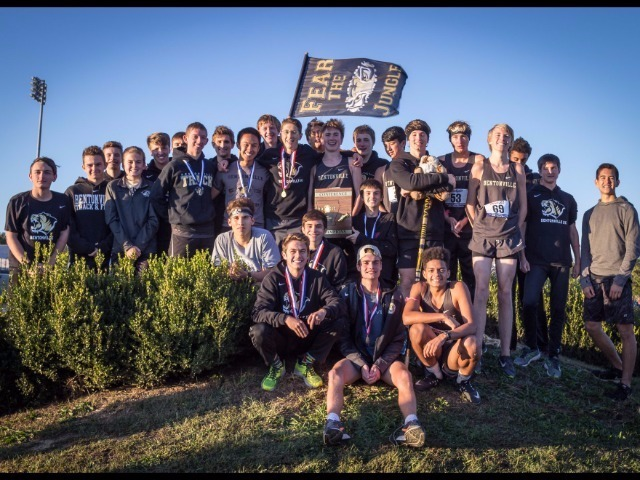 Boys win 7A West Conference Championship