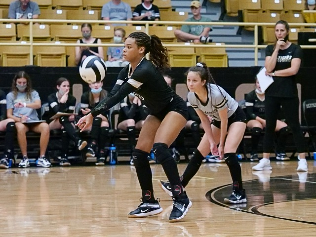 PREP VOLLEYBALL Hamilton blended into tremendous player, leader for Bentonville High
