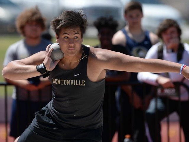 Bentonville's Parlin now eyes two state records