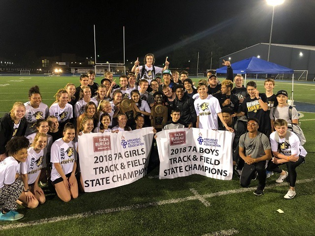 Track Tigers with the Sweep at the State Championships!