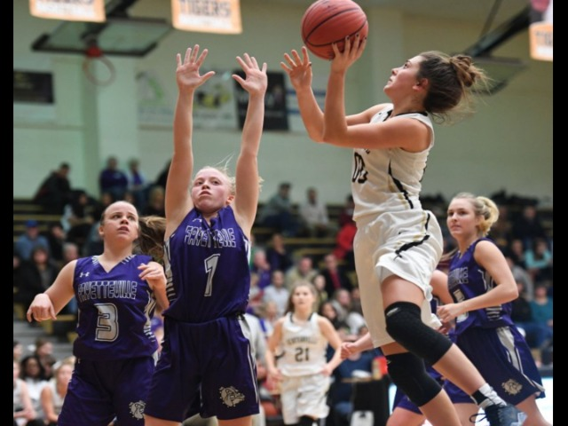 Hughes leaves her mark at Bentonville