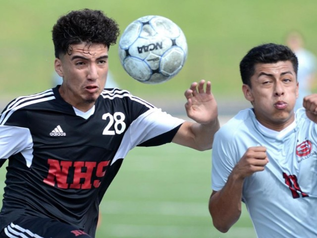 NHS Grizzlies face Rogers for 7A soccer title