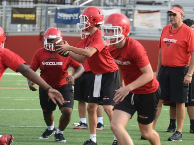 NHS Grizzlies wrap up another solid week of practice