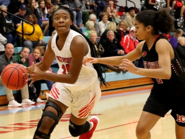 NHS Lady Bears roll in second half to big win to begin ToC