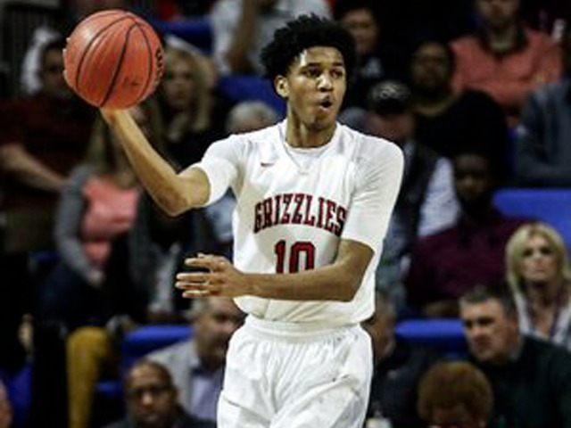 Hogs signee lifts young Grizzlies back to title game