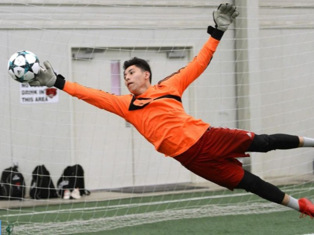 Flores flourishing as goalkeeper for contending Grizzlies