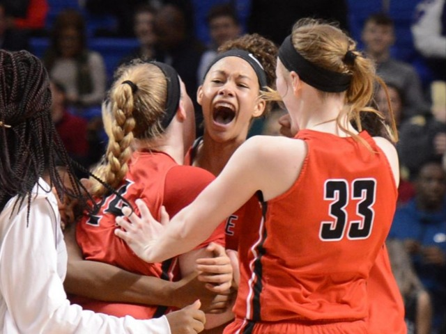 Wolfenbarger's game-winning shot caps wild comeback as Lady Bears claim 7th state title