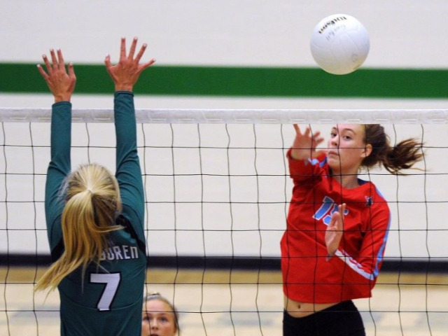 Southside finishes strong in sweep of Van Buren Pointers