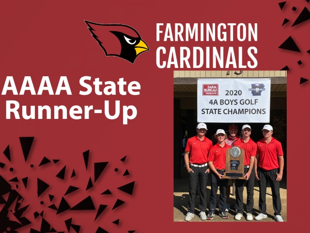 Farmington Boy's Golf Finishes Runner-Up At State Match