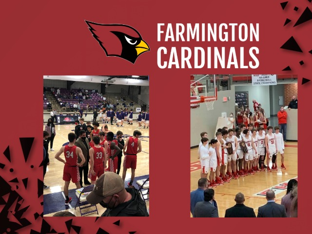 Image for Farmington Boy's Basketball Finish Season With Another Conference Title