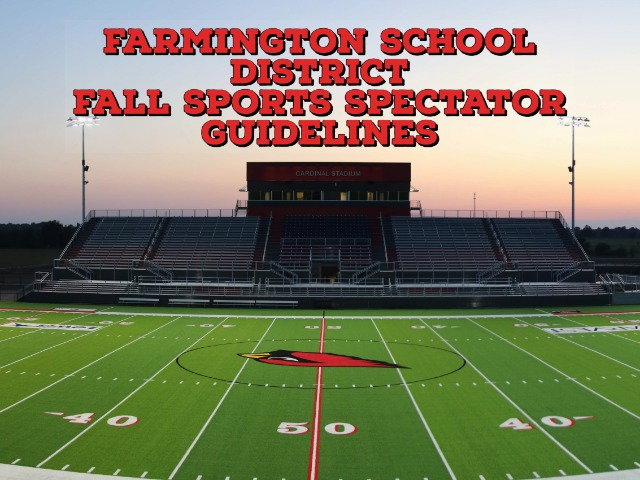 Image for Farmington Releases Spectator Guidelines for Fall Sports