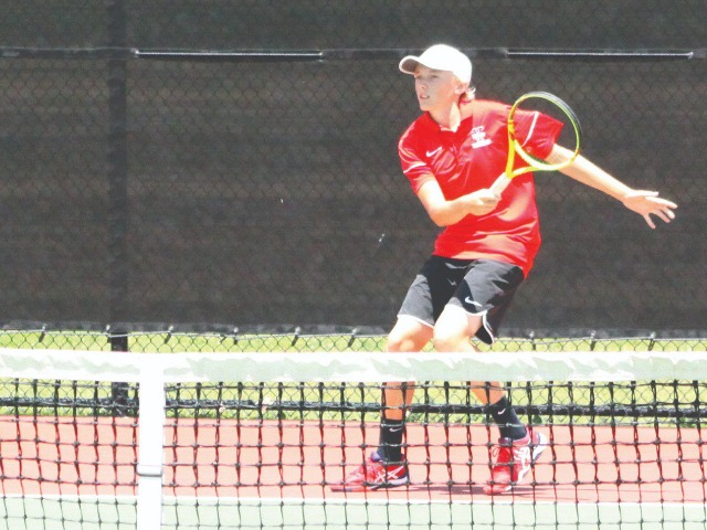 Yukon freshman places at 6A boys tennis state tournament