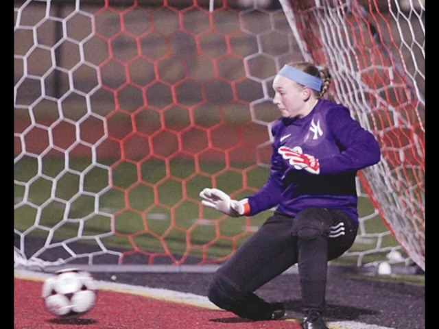 Crowell comes up with 2 big saves in shootout to lift Millerettes past Norman North 2-1