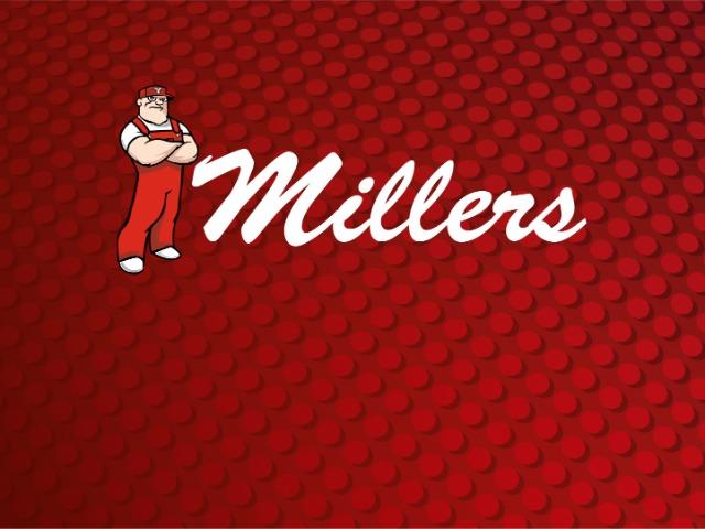 Millerette spikers roll by PCO
