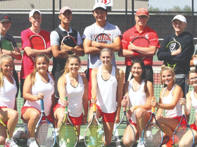 Yukon tennis teams prepping for postseason run