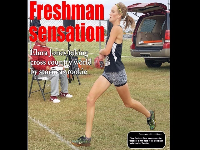 Yukon 9th grader doing big things in cross country