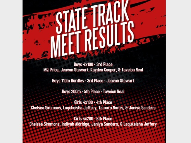 Image for Liberty Eylau State Track Meet Results