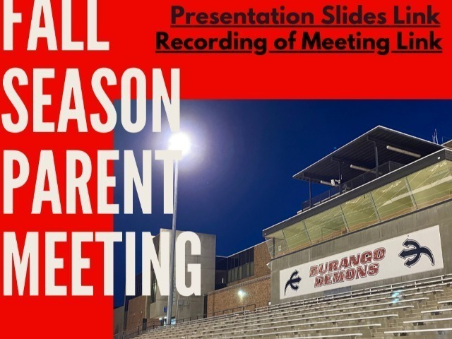 Image for Fall Parent Meeting