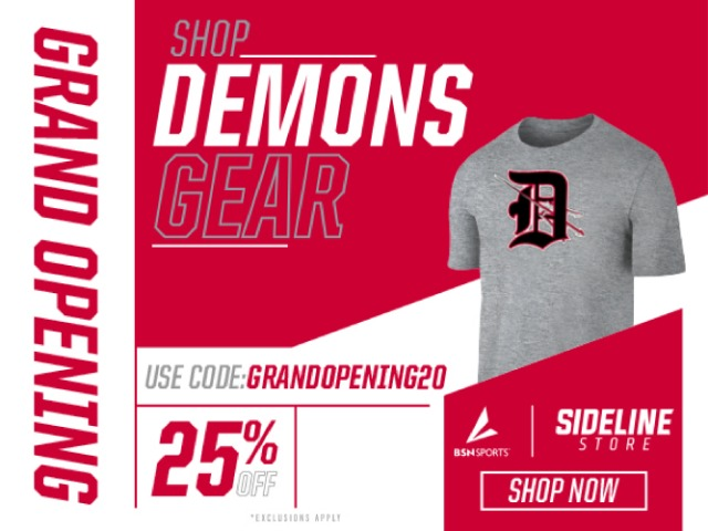 Image for DURANGO DEMONS SIDELINE STORE GRAND OPENING
