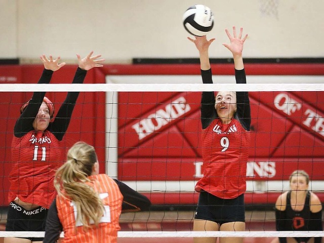 Durango High volleyball spikes Grand Junction