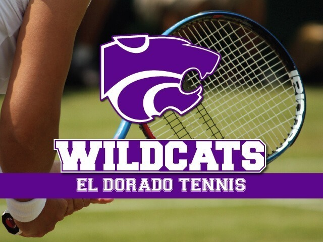 El Dorado tennis competes at Lake Hamilton