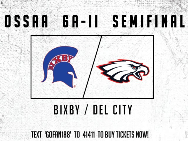OSSAA 6A-II Semifinal vs. Del City