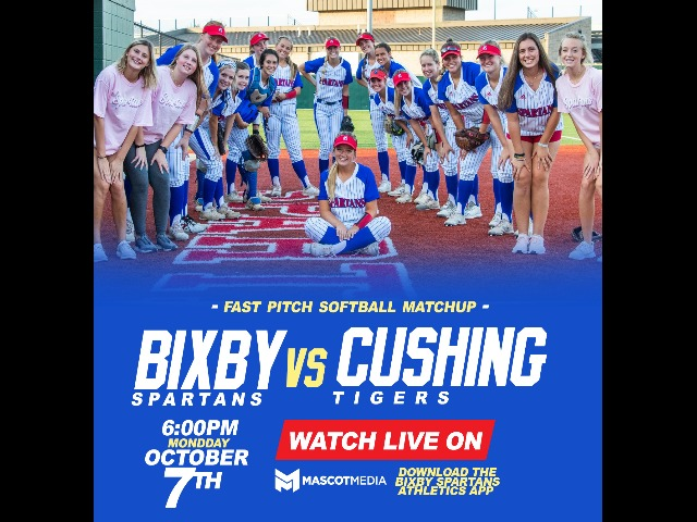 WATCH LIVE: Softball vs Cushing 10/7