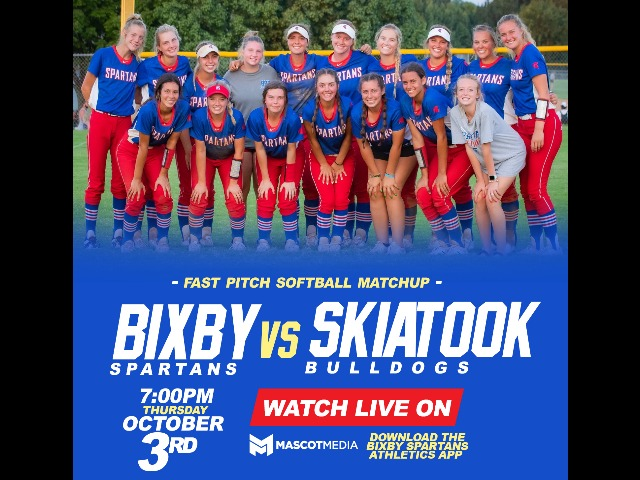 WATCH LIVE: Softball vs Skiatook 10/3