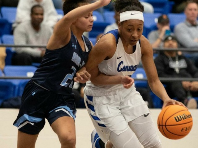 Image for GIRLS UNDERCLASSMAN OF THE YEAR: Freshman Chloe Clardy makes impact at beginning for Conway