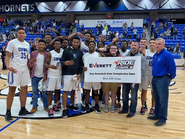 Wampus Cats Will play for the 6A State Championship Saturday at 7:45 in Hot Springs