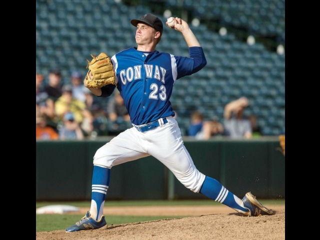 Wicks' two-hitter highlights Conway victory
