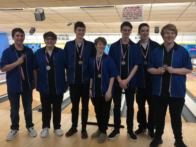 The Wampus Cat Bowling Team finished 2nd in the Central Conference