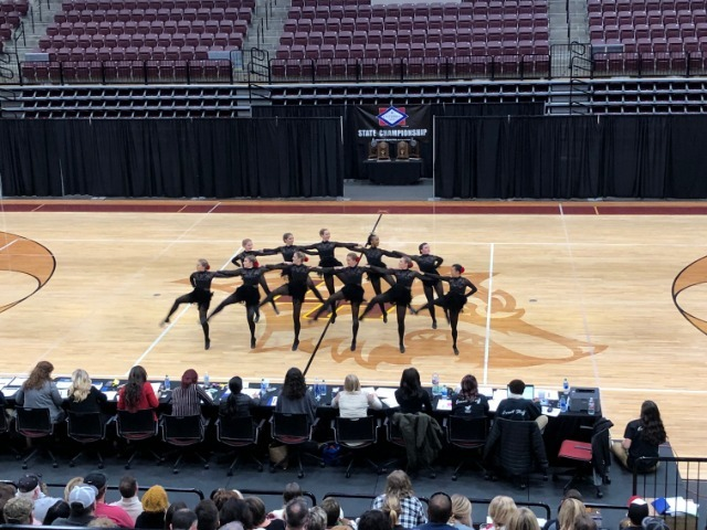 Wampus Cat Dance Team Placed 5th in the State Dance Competition