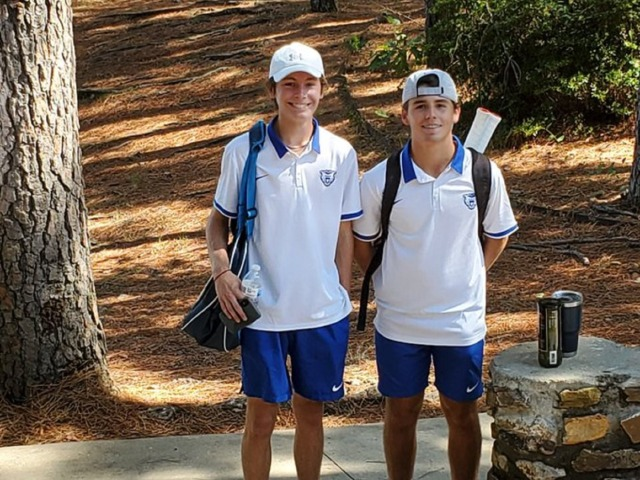 Doubles Team Win First Round Of Conference Touranment