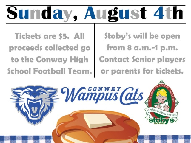 Wampus Cat Football Pancake Breakfast
