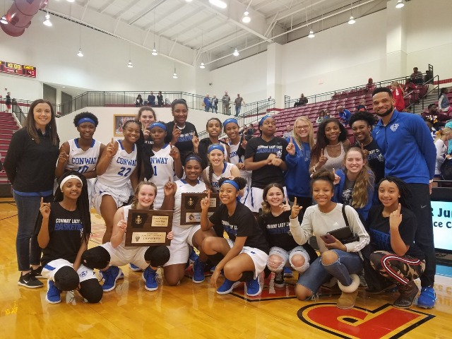 BLue Team Wins Conference Tournament