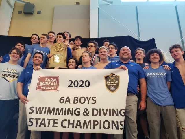 Wampus Cats Win 6A State Swim/Dive Championship