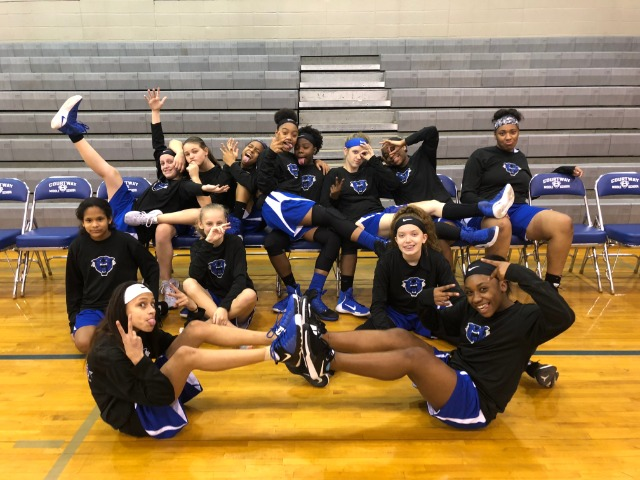 COurtway Middle School Girls Basketball goes undefeated