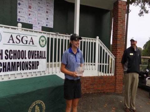Casey Ott wins junior championship qualifying