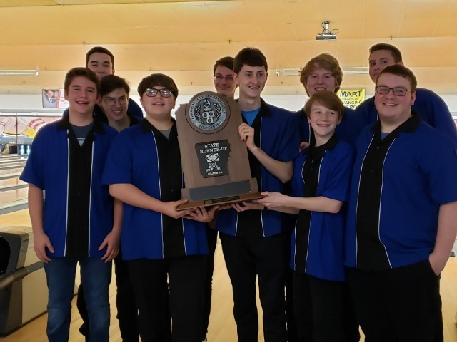 Wampus Cat Bowling Teams are  State Runner Up Champions