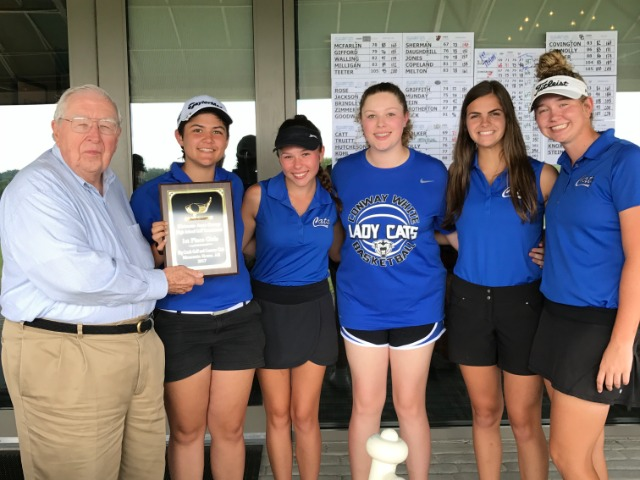 Lady Cat Golf Team wins Mt. Home Invitational- Boys 3rd