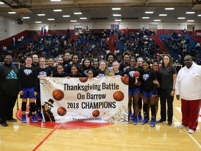 Lady Cats win the Battle on Barrow