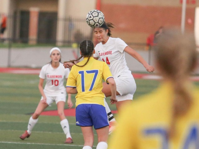 Claremore soccer sweeps Pryor